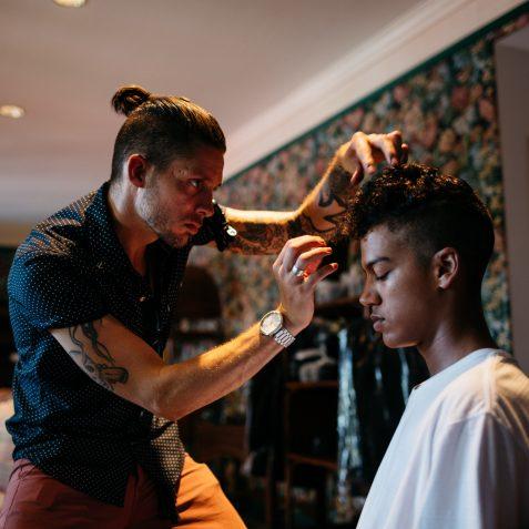 Men's hair style - Buffalo Co Barber Shop