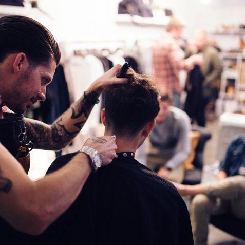 Custom Barber Shop and Salon